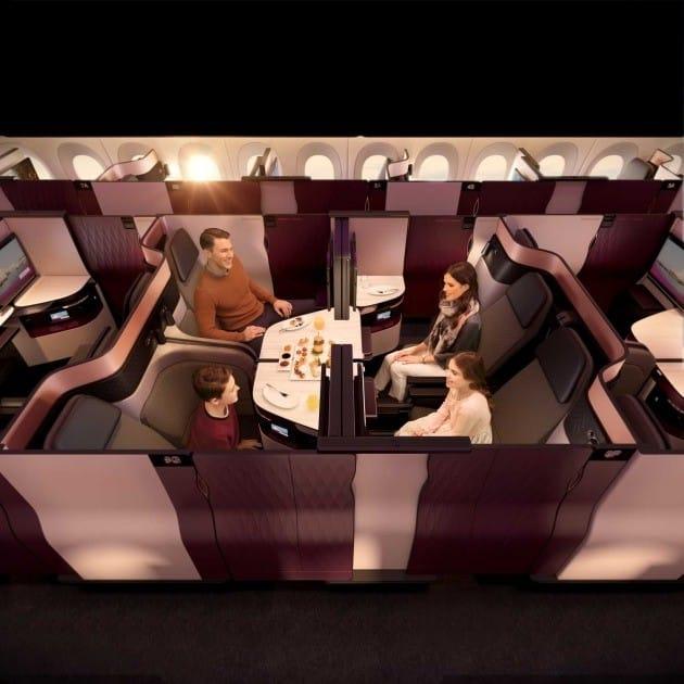 카타르항공의 신규 비즈니스 클래스 'Q스위트