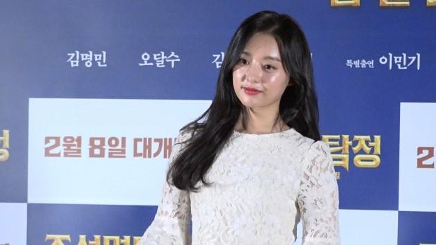 """[영상] '조선명탐정3' 김명민 """"이번 영화는 김지원을 위한 영화"""""""