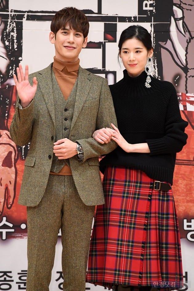 [포토] 박기웅-정은채, '다정한 모습에 눈길~'