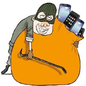 한달 동안 238대 훔친 '스마트폰 대도'