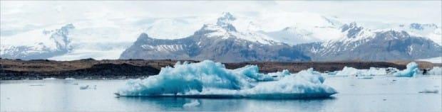 아이슬란드 빙하.