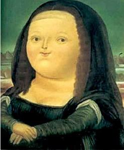 [그림이 있는 아침] 페르난도 보테로 '12세의 모나리자'