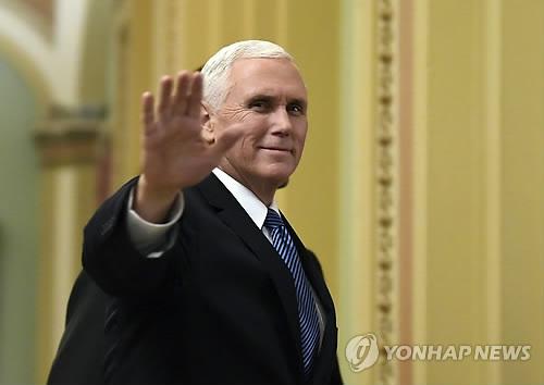 """미 부통령 """"북한 핵포기 때까지 압박 늦추지 않을 것"""""""