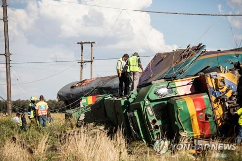 남아공 열차탈선으로 최소 18명 사망·239명 부상