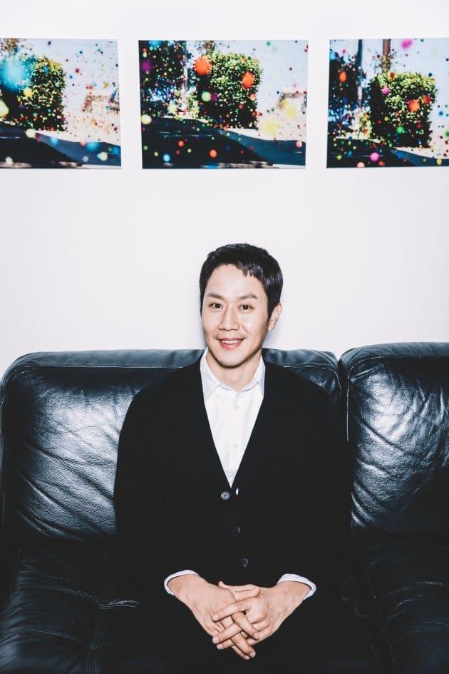정우 인터뷰 / 사진 = 롯데엔터테인먼트 제공