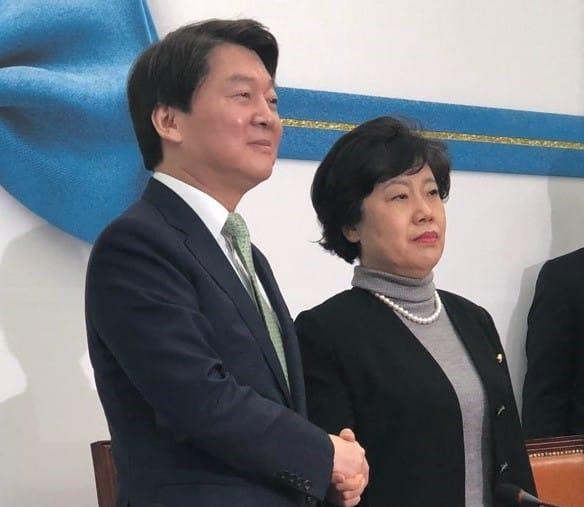 """갈라 선 조배숙, 안철수 예방…""""가는 길 다르지만 협력 가능"""""""