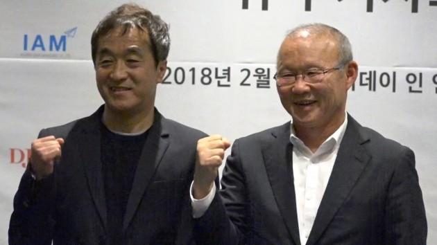 """[영상] '베트남 히딩크' 박항서 """"한국 대표팀 만나면 최선 다할 것"""""""