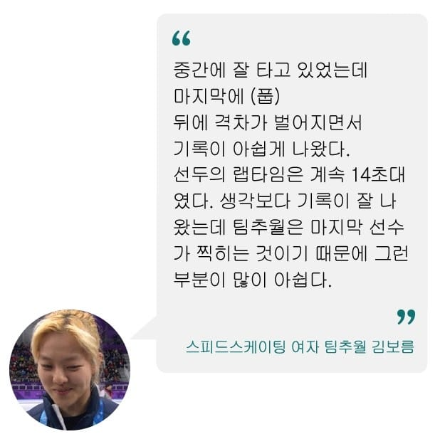 평창올림픽 최악의 장면 기록된 여자 팀추월…김보름·박지우 '분위기 좋았는데'