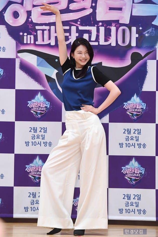[포토] 김진경, '우월한 비율 과시~'
