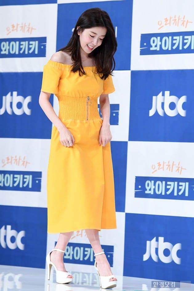 [포토] 정인선, '사뿐사뿐 가벼운 발걸음~'