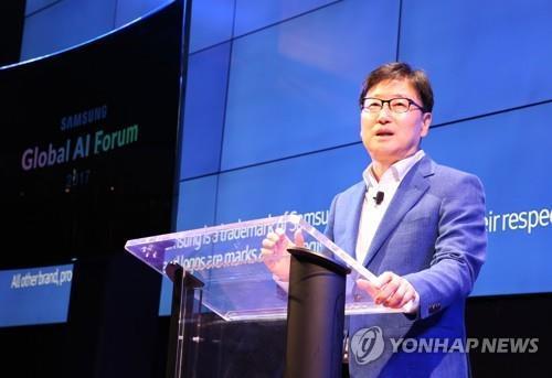 """윤부근 삼성전자 부회장 """"스피드경영 위해 더 열심히 해야"""""""