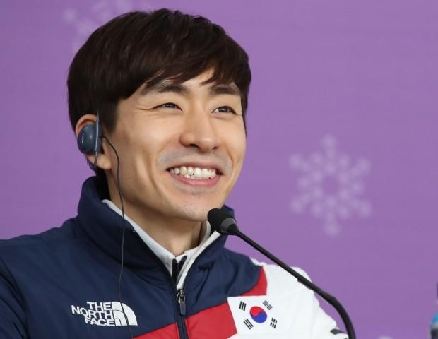 이승훈의 금빛 미소 (사진=연합뉴스)
