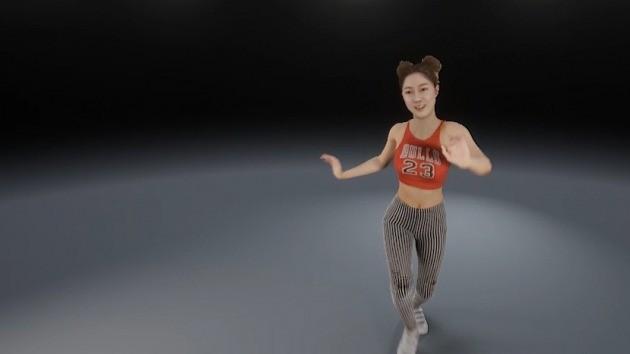 리얼리티리플렉션이 개발한 디지털 휴먼 '제나(Zena)'는 머릿결과 모공 등이 섬세하게 표현됐고, 음악에 맞춰 춤을 추면서 사용자와 눈을 맞추기도 한다. 리얼리티리플렉션 제공