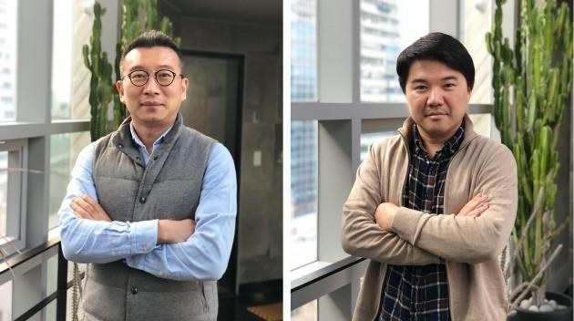 노정석 최고전략책임자(CSO·왼쪽)와 손우람 최고경영자(CEO). 리얼리티리플렉션 제공