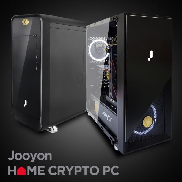 주연테크가 출시한 크립토 PC.
