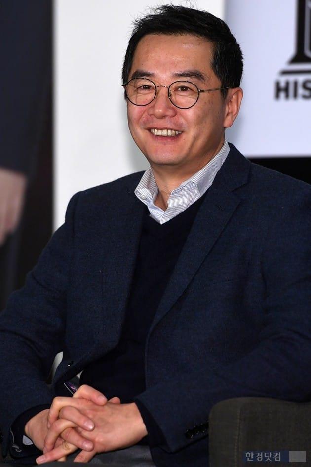 [포토] 장진 감독, '부드러운 미소'
