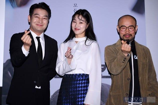 [포토] 조성하-하윤경- 고은기 감독, '타클라마칸 대박'
