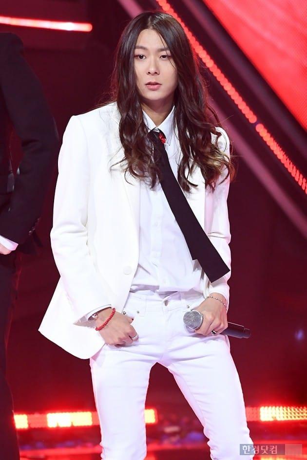 [포토] 장문복, '긴 머리 찰랑이며 시크하게~'