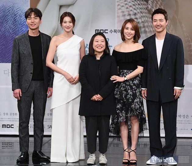 작정하고 만든 신파형 시한부 드라마 '손 꼭 잡고' …한혜진 '히든 카드'