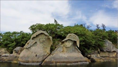 천연기념물인 목포 갓바위