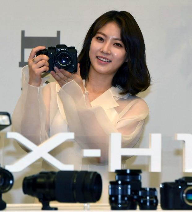 배우 공승연, 후지필름 신형 카메라 출시 행사 참석