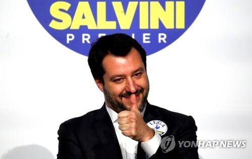 """伊 국민 51% """"총선 재투표 예상…총리적임자 1순위는 디 마이오"""""""