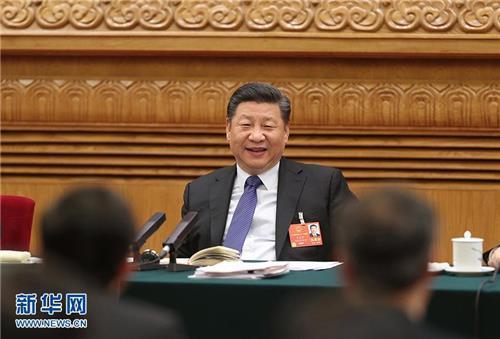 """시진핑, 장기집권개헌 '셀프승인'…전인대서 """"완전히 찬성"""" 선언"""
