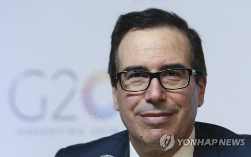 "G2 무역전쟁 피하나…므누신 ""중국과 합의 조심스럽게 희망"""