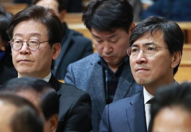 이재명 안희정 /사진=연합뉴스