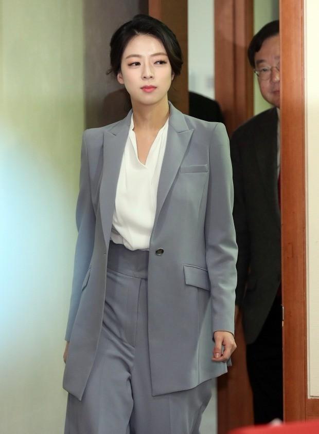 입당 환영식 참석하는 배현진 (사진=연합뉴스)