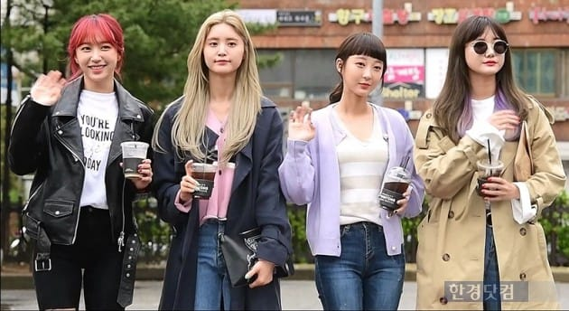 [HK영상] EXID, '개성 넘치는 그녀들의 시크한 출근길'