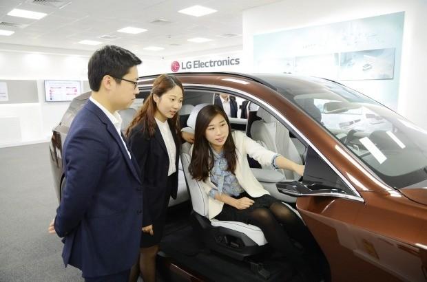 LG전자, 中 '베이징 모터쇼'서 자동차 핵심 부품 전시