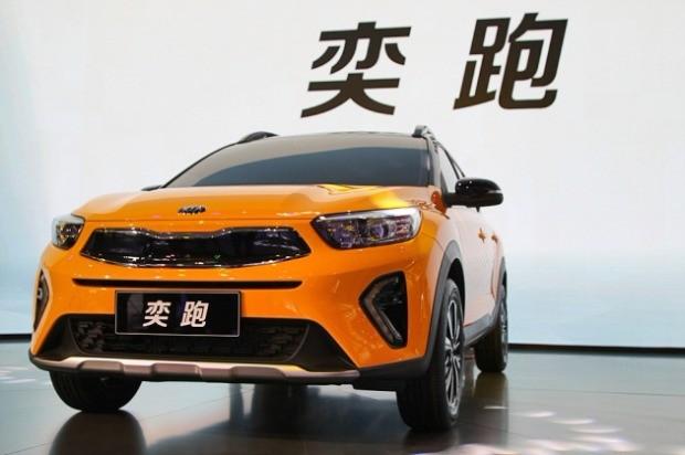 기아자동차가 선보인 중국 전용 SUV인 '이파오' / 사진=박상재 기자