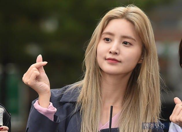 [포토] EXID 정화, '사랑스럽게 하트~'