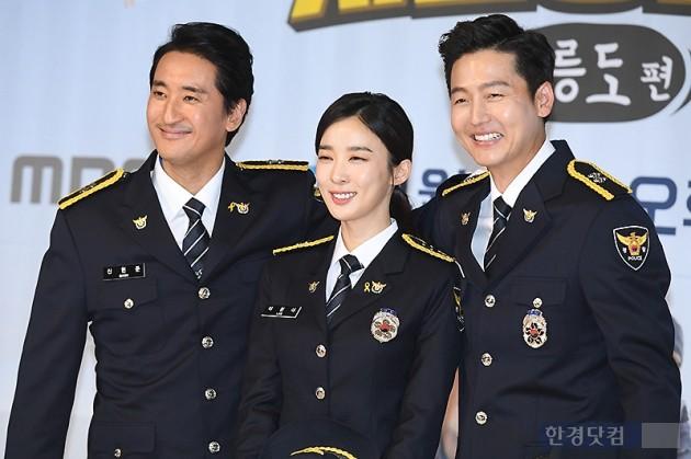 [포토] 신현준-이청아-이정진, '오대환 없이 환한 미소~'