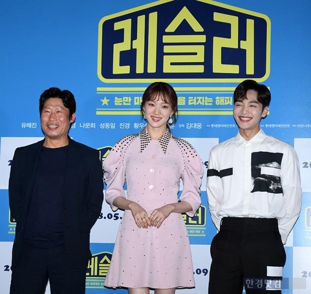 [포토] 유해진-이성경-김민재, '미소 가득 포토타임'