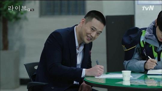 드라마 라이브 곽민호(사진=해당방송 캡처)