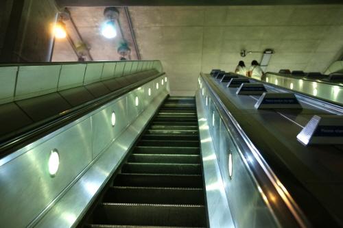 대전역 에스컬레이터 역주행 (사진=이미지스톡)