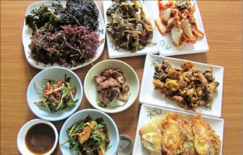 우도 해초밥상