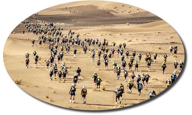 사하라사막 마라톤 대회… 인간의 한계에 도전하다