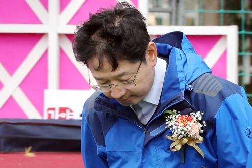 """경남지사 출마 김경수 """"김해 끝까지 자리 지키지 못해 송구"""""""