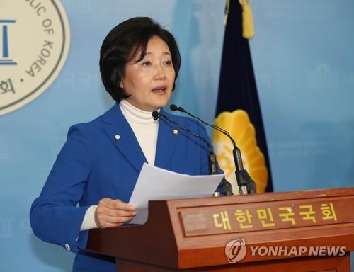 """박영선 """"박원순, 너무 안이하게 대처"""" 미세먼지 정책 비판"""