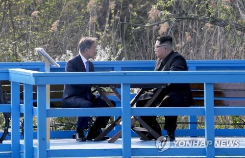 """남북 혈맥 이었다… 문 대통령·김정은 """"완전한 비핵화, 올해 평화협정 전환"""""""