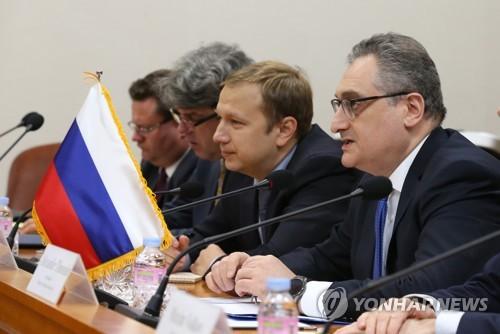 """러시아 외무장관 """"러, 한반도 평화협정 체결 참여 않을 것"""""""