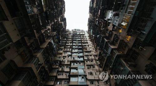 """홍콩 """"3.4평 아파트"""" 분양… 초미니 규모 갈수록 늘어"""