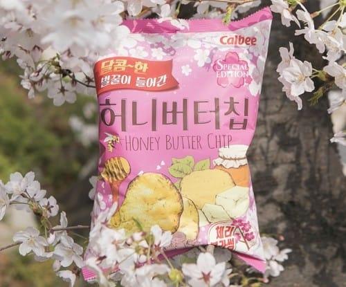허니버터칩 체리블라썸, 한달만에 140만봉지 완판