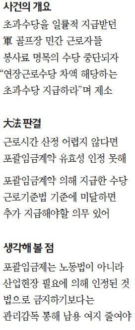 """[대한민국을 흔든 판결들] """"근로시간 산정 가능 땐 포괄임금제 무효""""… 남용 방지로 충분"""