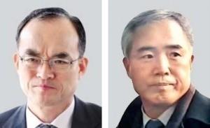 문무일 검찰총장(왼쪽), 양부남 광주지검장.