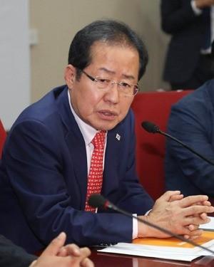 홍준표 자유한국당 대표 사진=연합뉴스