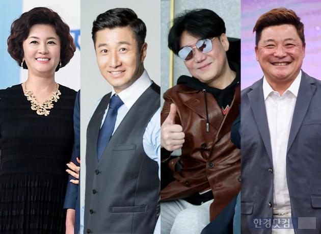 김혜선, 이훈, 이상원, 윤정수 / 사진 = 연합뉴스·한경DB